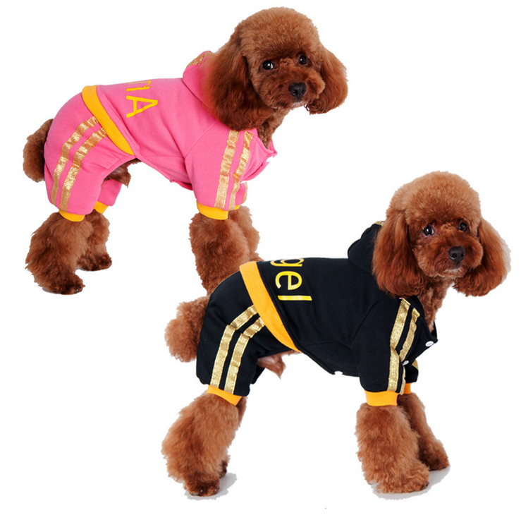 2017 hot models pet accessories cute angel model black four legs dog clothes