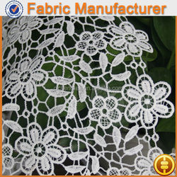 new fashion textile 100 %polyester guipure chemical lace pam for water treatment chemical