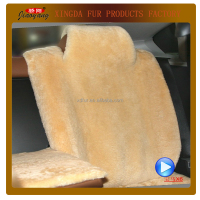 comfortable sheep fur car seat cover/ cushion