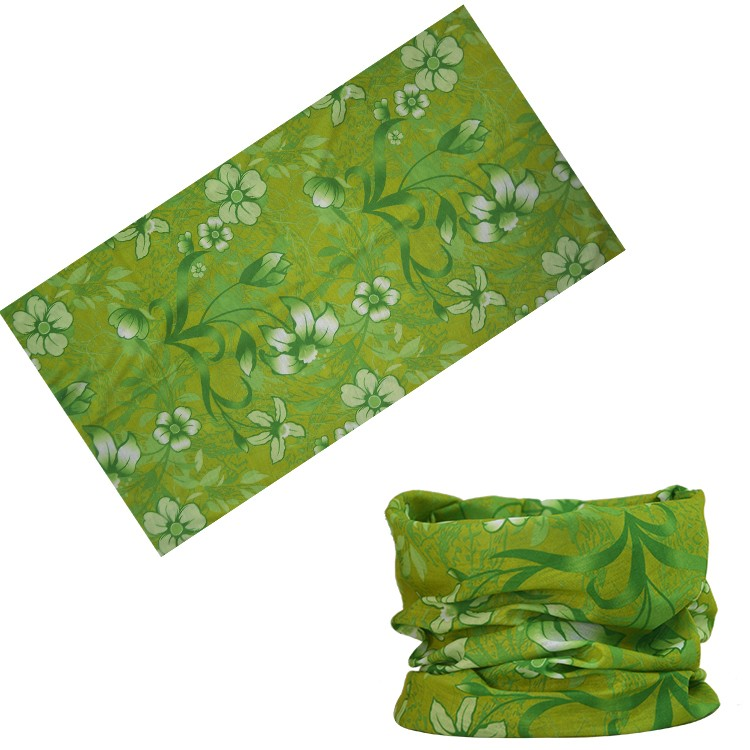 Fashional Accessories flower headband and Multi-purpose Bandana