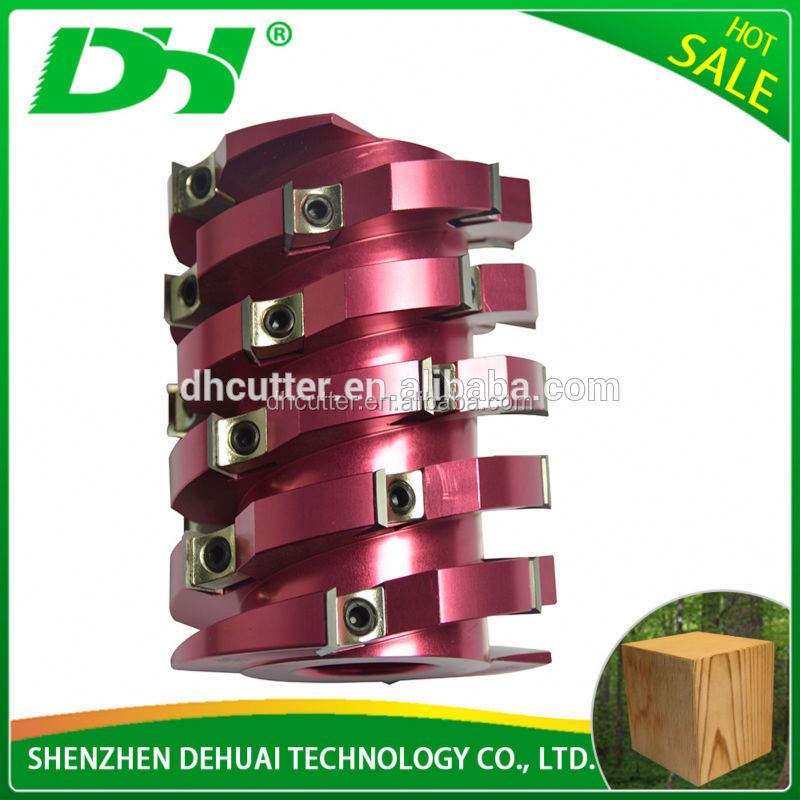 Woodworking Spiral Planer Cutter head for planer machine