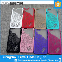 2016 Hot Selling Angle Wings PC Case Cover for Iphone 6 Plus