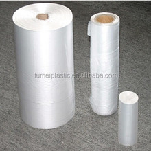2014 Hot LDPE plastic produce white food bag on a roll