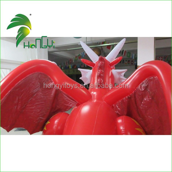 inflatable red dragon (7)
