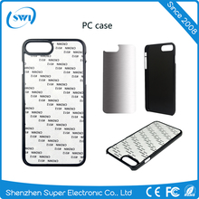 Heat transfer print 2d sublimation blank PC phone case for iPhone