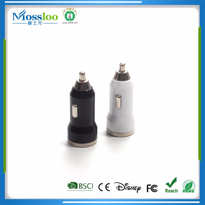 Market Oriented Supplier 2 Port USB Charger With Car Logo