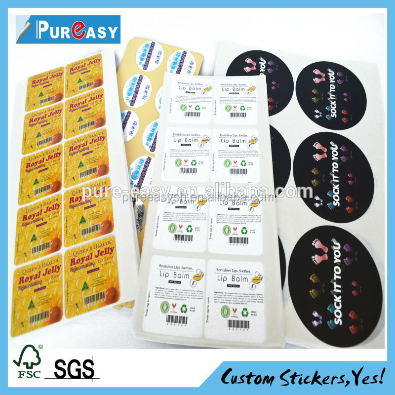 Custom Ecofriendly Sticker Usage Labels And Rounded Label Sticker - Custom stickers eco friendly