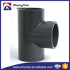 High quality A234 WP1 ANSI B16.25 bevelled ends pipe fitting pipe tee