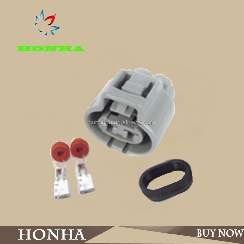 DJ7021Y-4.8-21 Car plastic 2 pin waterproof electrical wire joint female connector plug