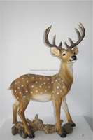 resin deer animal statue home decoration