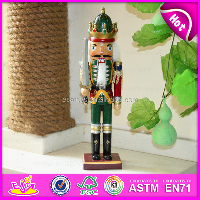 2015 Novelty Wooden Nutcracker toy for gifts,Funny cheap wooden promotion gifts,Wooden toy promotion gifts for christmas W02A087
