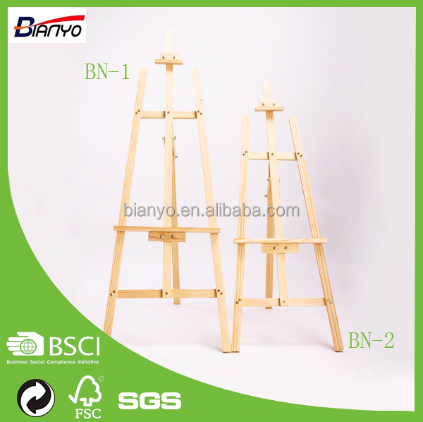Bianyo Professional Display Wooden Painting Easel