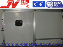 75mm pu polyurethane sandwich panel for freezer room(50mm,75mm,100mm,120mm,150mm,200mm) with bitzer compressor unit