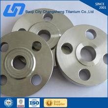 Hot selling forged astm b381 gr2 titanium flange with high quality