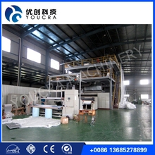 ISO9000 certiificate PP Spunbond nonwoven fabric making machine 3200SS