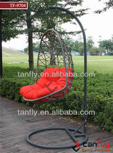 fashion design rattan hanging chairs outdoor furniture patio wicker swing chair