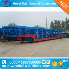 tri axel storage/stake truck semi trailer car transport semitrailer for sale