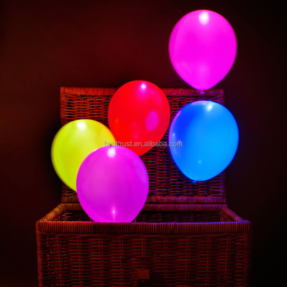 wholesale 2016 new design led light balloon for party. Black Bedroom Furniture Sets. Home Design Ideas