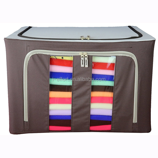 Jumbo American Metal frame hold clothes storage box