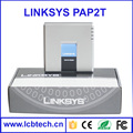 Factory price with 2 phone port Top selling unlocked Voip Linksys pap2t