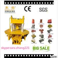 hot selling high press hydraulic concrete block making machine for kerbstones