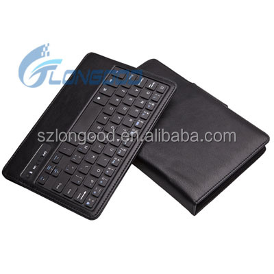 "Removable Bluetooth Keyboard Leather Case For Samsung Galaxy Tab 3 7"" P3200 P3210 T210"