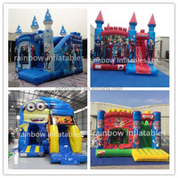 Popular hot sell product inflatable jumping bouncy castles for kids