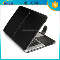 Latest Laptop Accessories 12 inch PU Leather Cover Case for Macbook Air