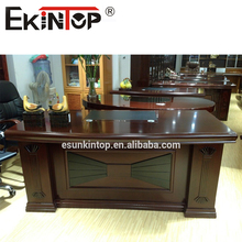 Wooden office desk shine painting office table executive office table