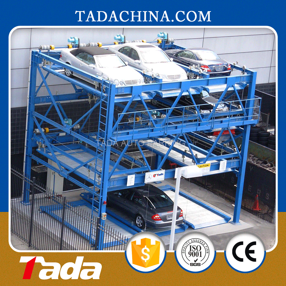 psh four layer sliding puzzle intellegent automated parking system