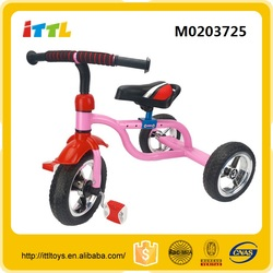 Smart kids folding tricycle 3 wheel tricycle baby tricycle