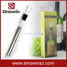 Wine Stainless Steel Chiller Stick Ice Cold Pourer Spout Bottle Freeze Cooling Stick