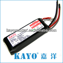 battery rechargeable 2250mAh 11.1V 35C RC Li-po battery for RC airplane with 100A Burst Discharge Current