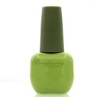 wholesale light green UV gel polish glass bottle for gel nail polish