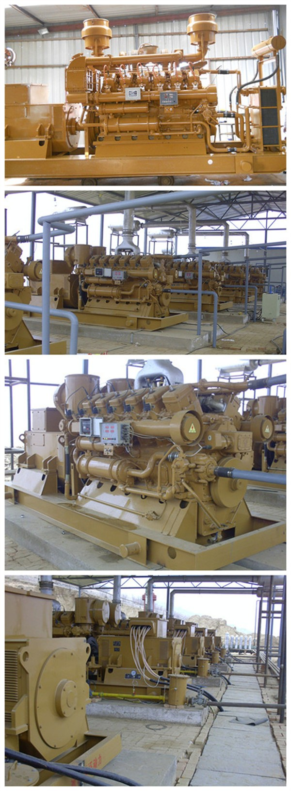 CE approved 10kw to 1MW cogenerator methane gas power generator natural gas generator