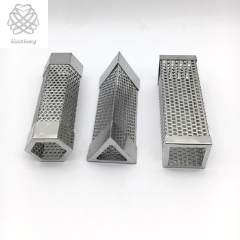 Premium 304 Stainless Steel Perforated Pellet Tube Smoker For Flavor Grilled