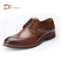 Cheap selling good quality leather men dress shoes