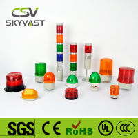 Various brackets tower lights Never Broken mini warning light IP30 blue green red amber led light bar