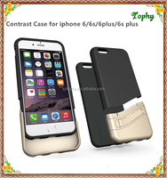 Tophy New Design Contrast Color Case for iPhone 6s, for iPhone Accessary Cover Case, for iPhone 6s mobile Phone Case