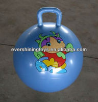 phthalate free Jumping balls with handles