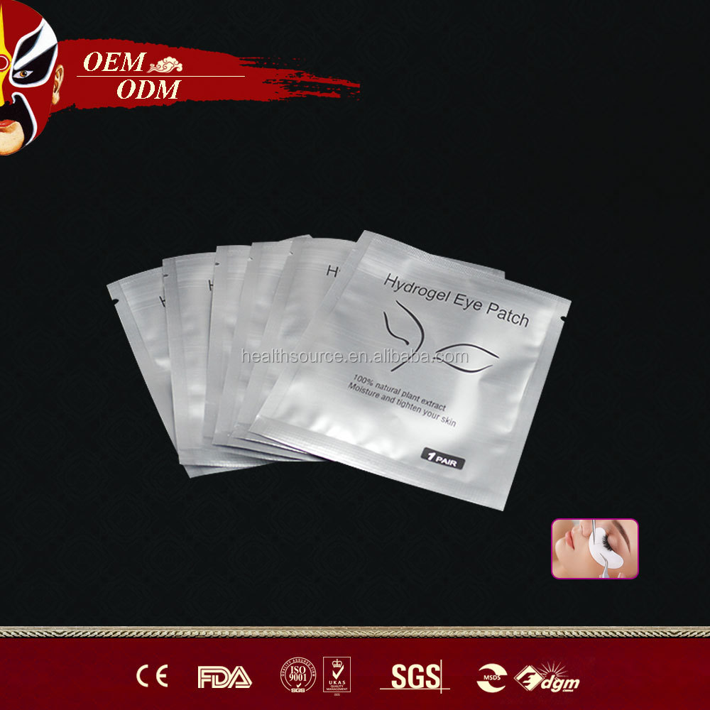 High quality Eyelash Extension with Eye Pads, Eye Gel Patch OEM CE FDA