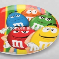 Melamine new design dinner plate set, melamine plates wholesale, christmas promotional gift