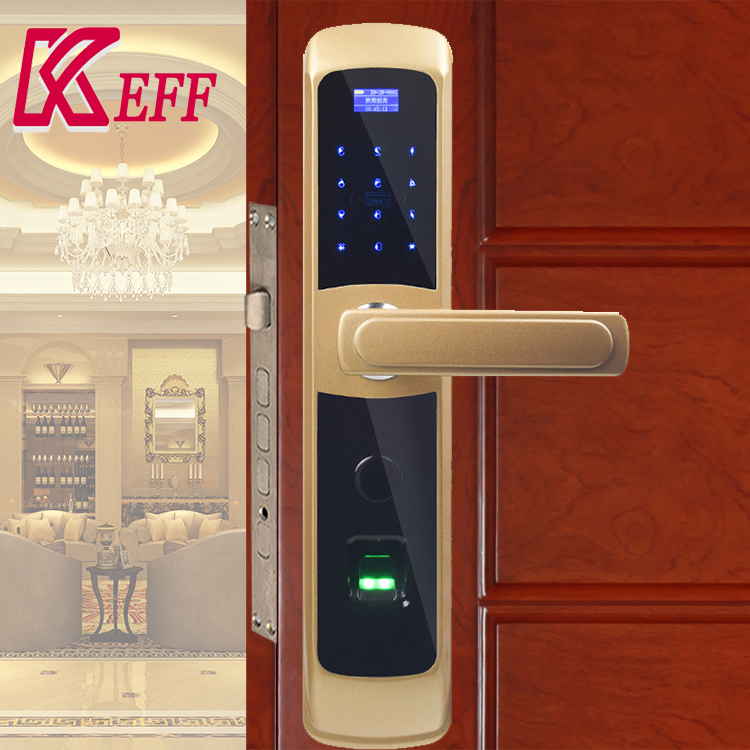 Unlock Way Fingerprint RFID Card china high quality favorable price new fingerprint doorlock brass alloy