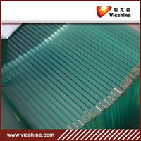 3.2mm Flat tempered glass for refrigerator door