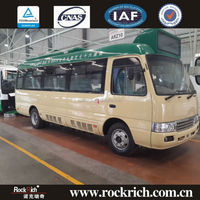 Hot Sale in HK RHD Electricity 19 Seats New Passenger Bus