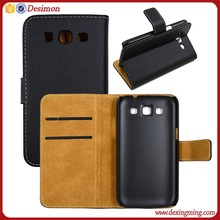 Genuine leather cell phone case for samsung galaxy win gt-i8552 made in china