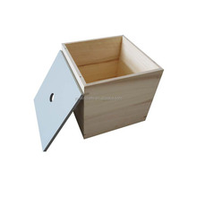 New design open top small wood box