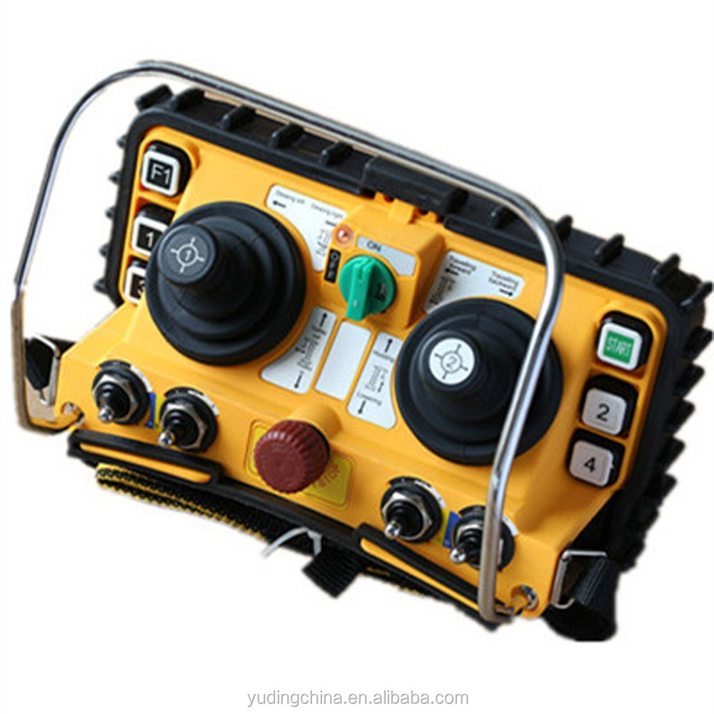 Overhead Crane Remote Control : F dual joystick overhead industrial wireless crane