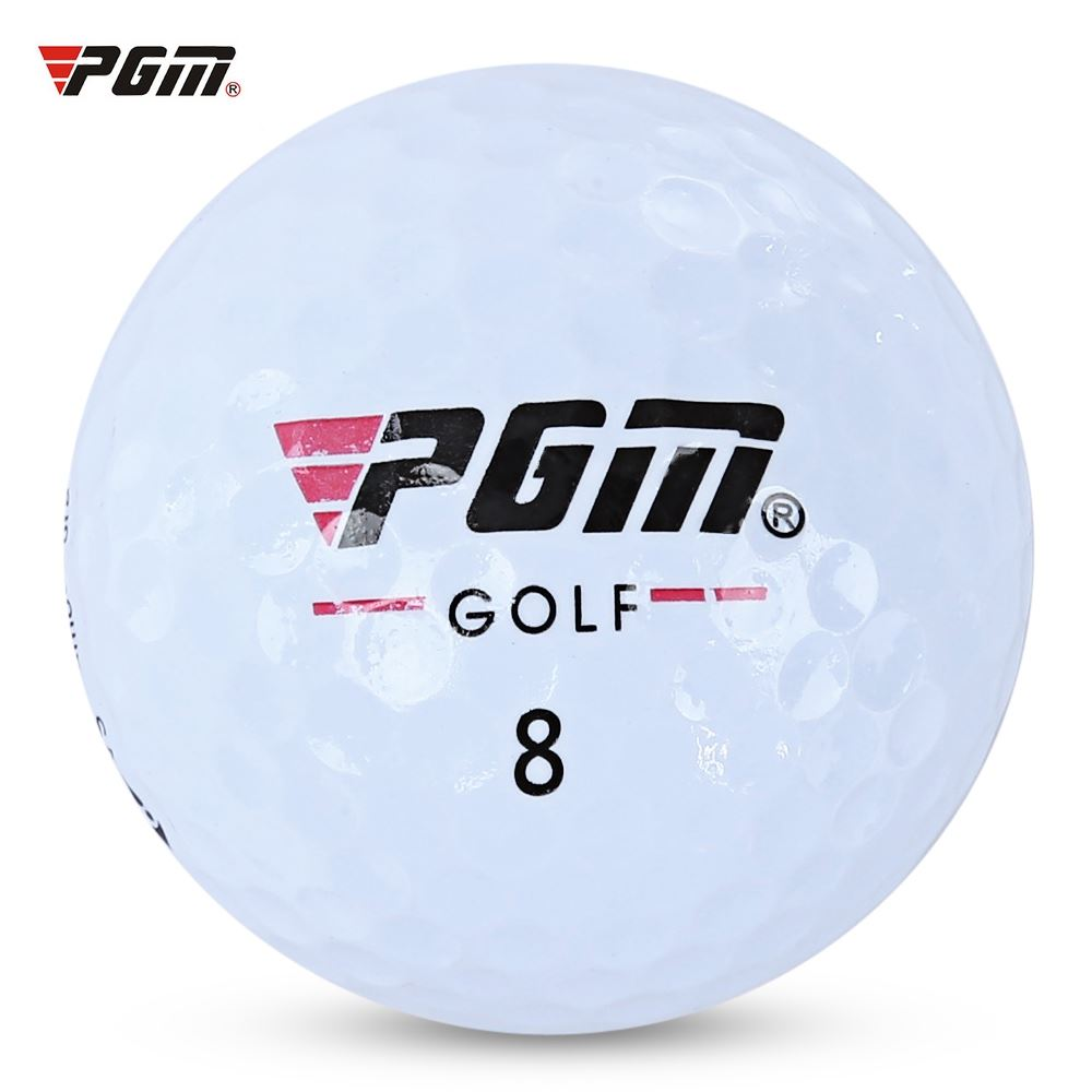 PGM 12pcs Durable Golf Ball with Three Layer Design Soft Durable Cover Ball For Golf