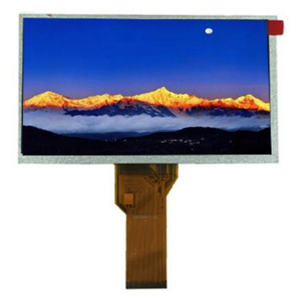 High quality super 7 tft lcd 800x480 with RGB